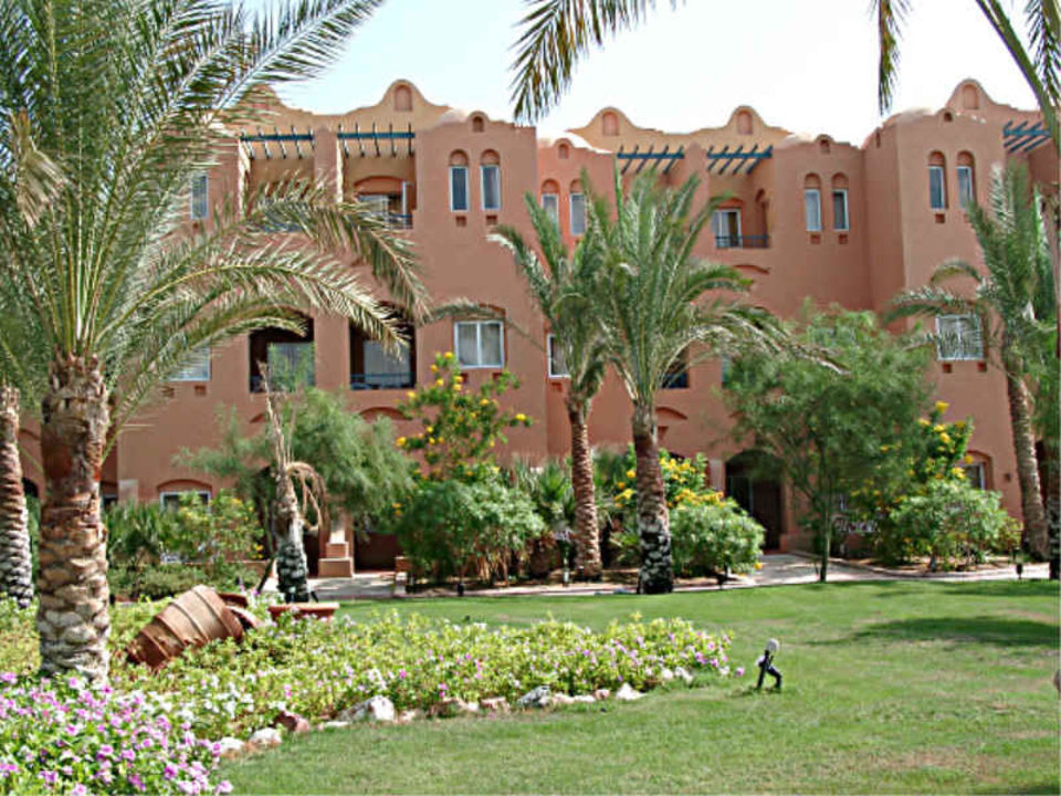 Makadi Oasis - Gartenanlage Jaz Makadi Oasis Club & Resort
