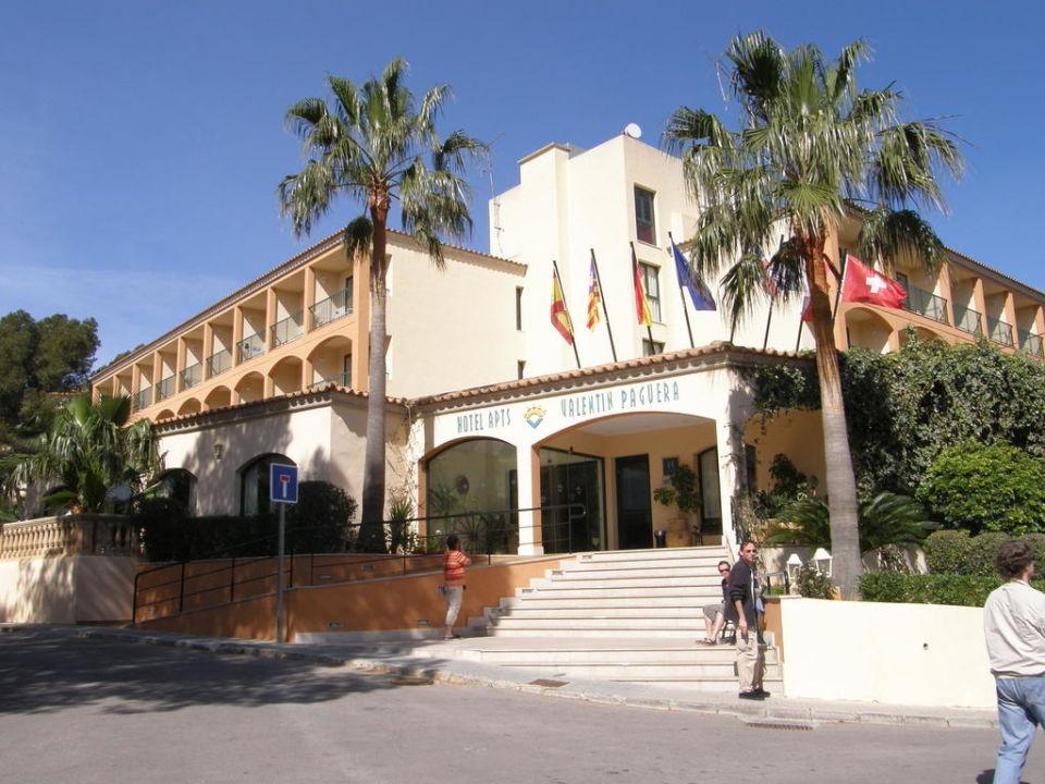 Eingangsbereich Valentin Paguera Hotel & Suites