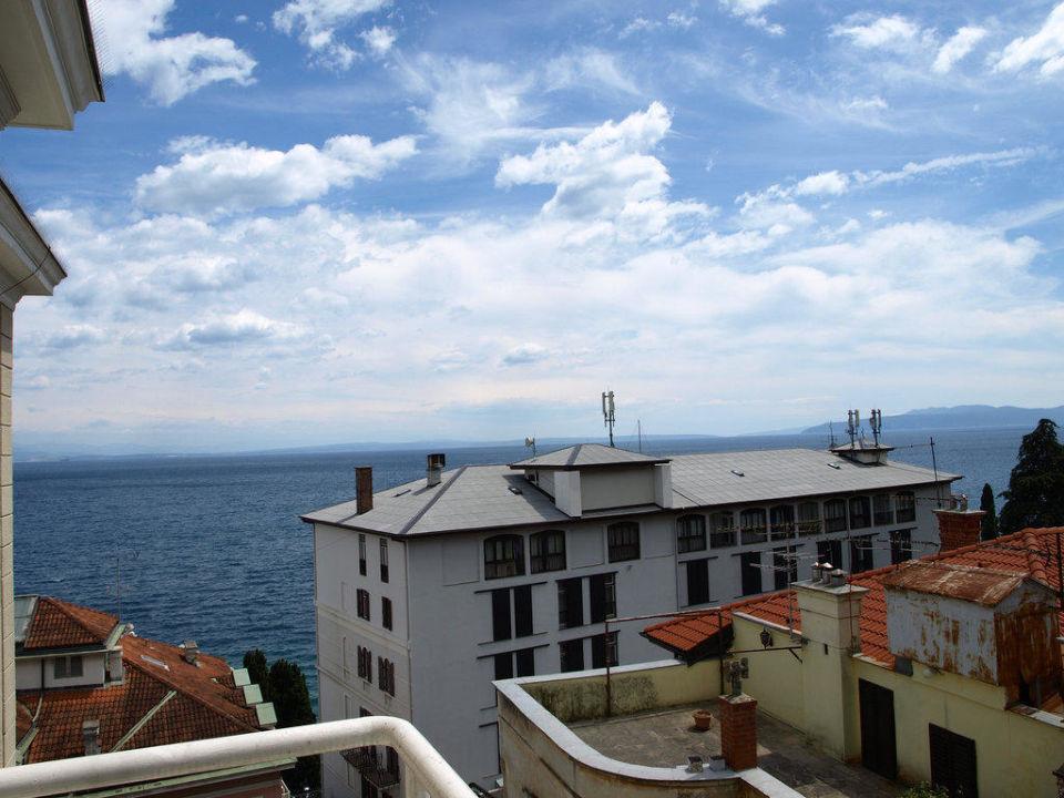 Blick vom Balkon Hotel Astoria by OHM Group
