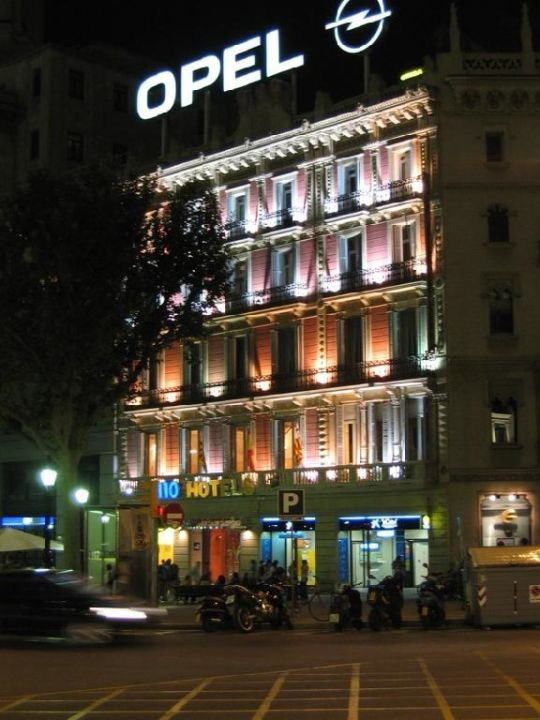 Hotel Catalunya Plaza - Aussenansicht nachts H10 H10 Catalunya Plaza Boutique Hotel