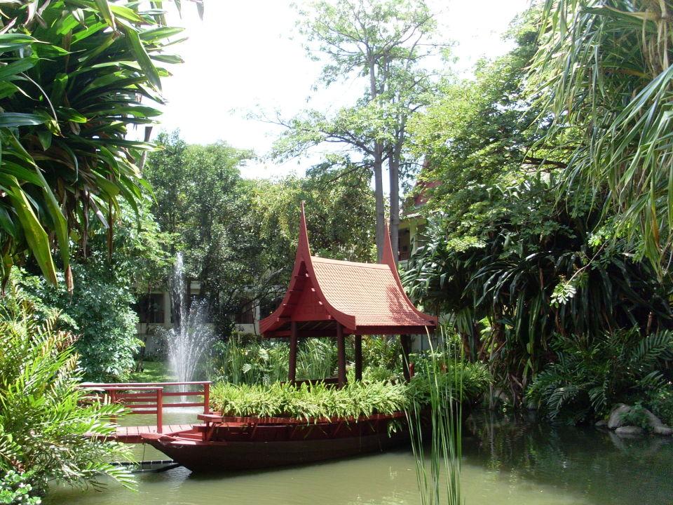 quotgartenanlage mit teichquot hyatt regency hua hin hua hin
