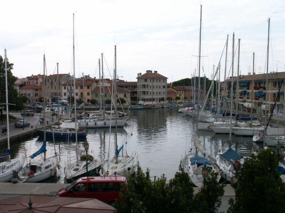 Grado Hafen / Aussicht Hotel Metropole