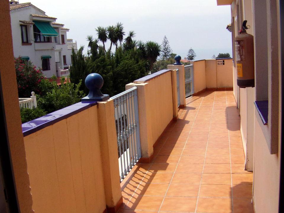 Zimmereingang Hotel Vista De Rey