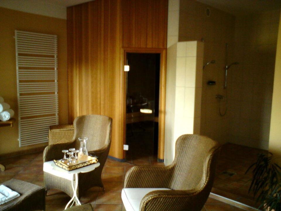 Saunabereich Hotel Ampervilla