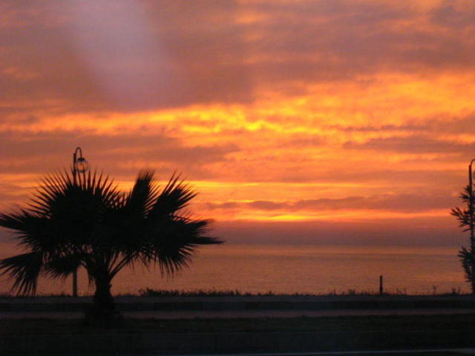 Sonnenuntergang Kemal Han Beach Hotel