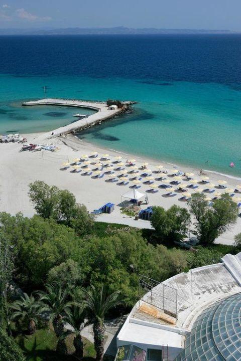 Beach Pallini Beach Hotel