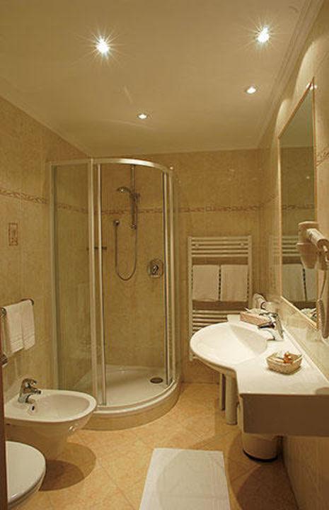 Badezimmer Hotel Piciuel