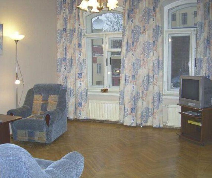 Wohnzimmer Apartment St.Petersburg