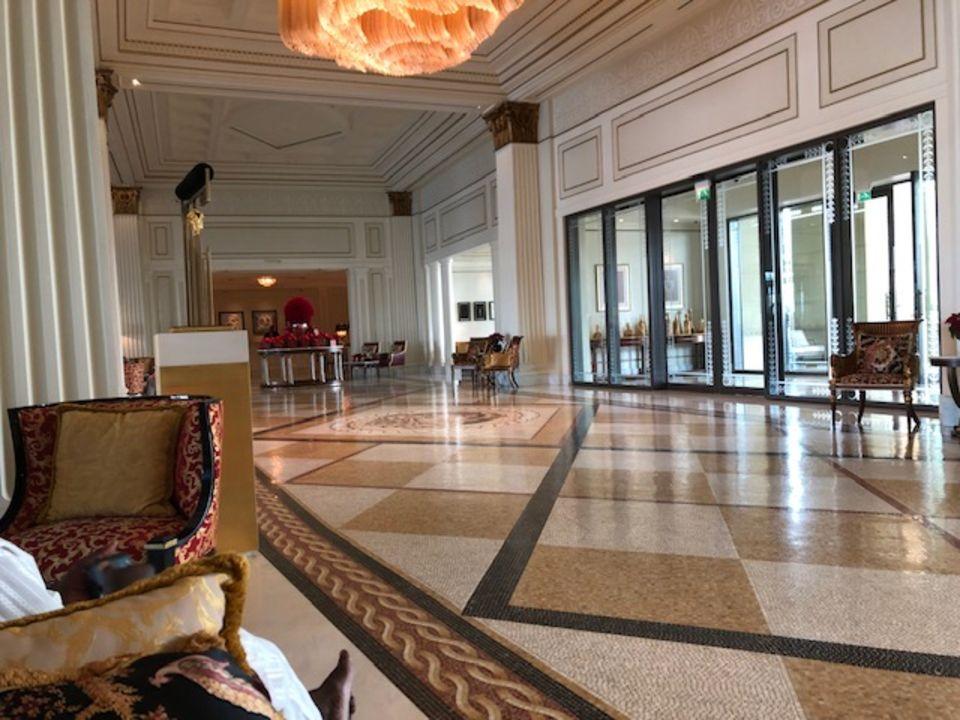 Lobby Palazzo Versace Dubai