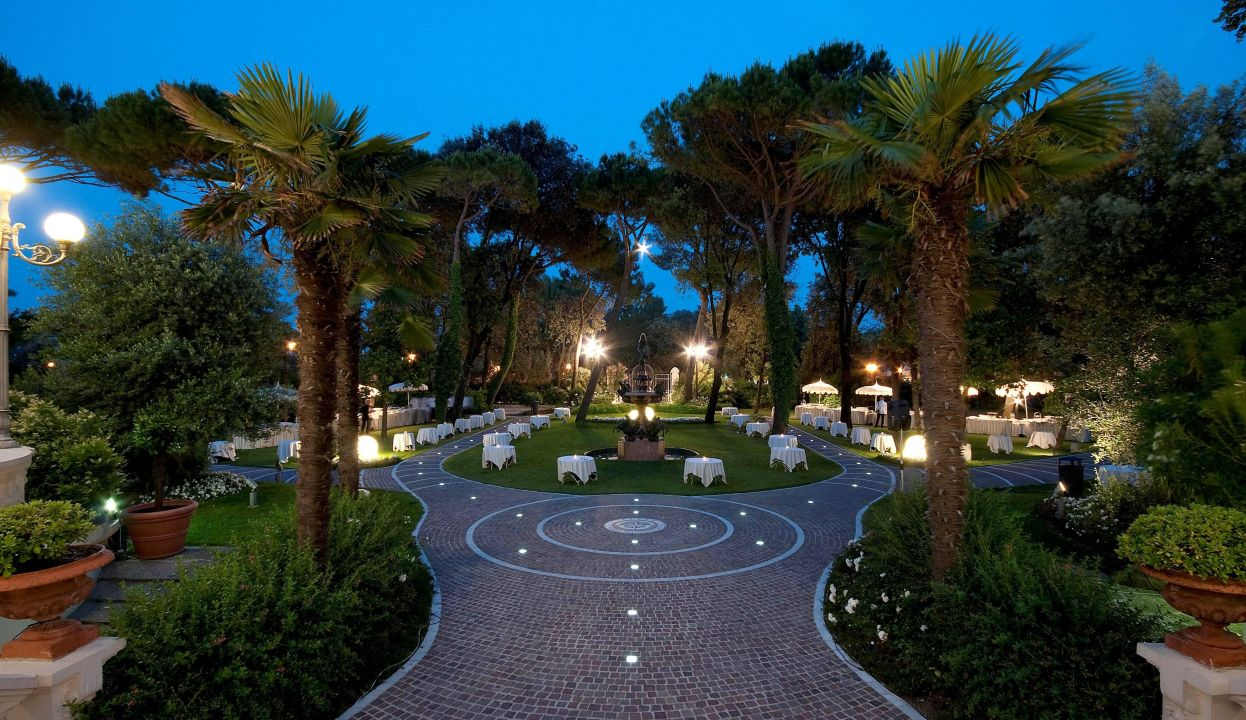 Gartenanlage Grand Hotel Rimini Rimini Holidaycheck Emilia