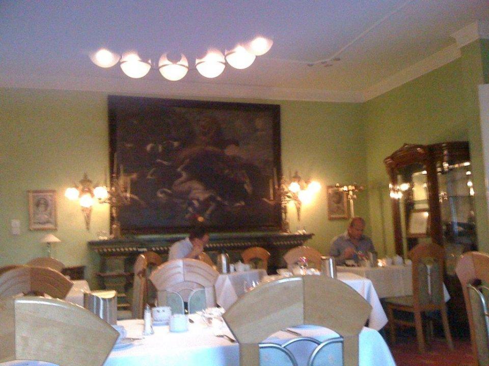 Schöner Frühstücksraum Romantik Hotel Fritz am Brunnen