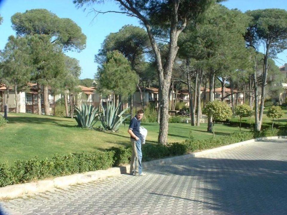 Hotel Rixos Belek - Garten mit Bungalowanlage Papillon Ayscha Hotel
