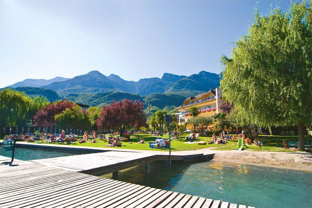 Hotel Seegarten Kalterer See Italien