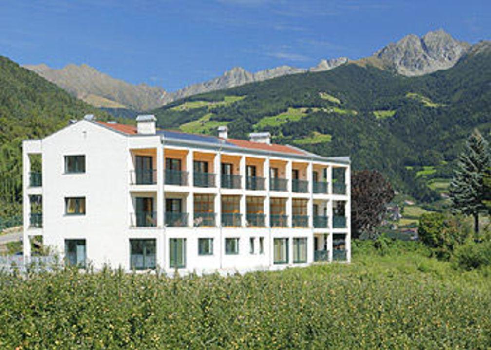 Aussenansicht Hotel Residence Haselgrund
