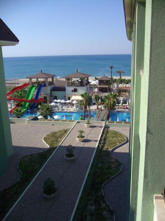 Blick vom Zimmerbalkon Mholiday Hotels Belek