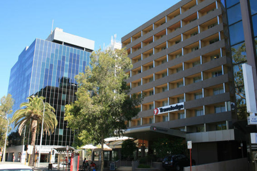 Hotelansicht Hotel Travelodge Perth