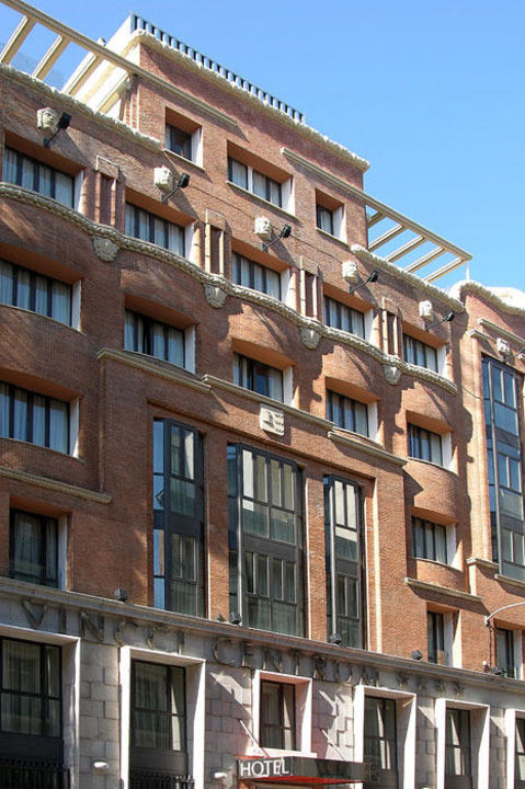 Fachada Hotel Vincci Madrid Centrum