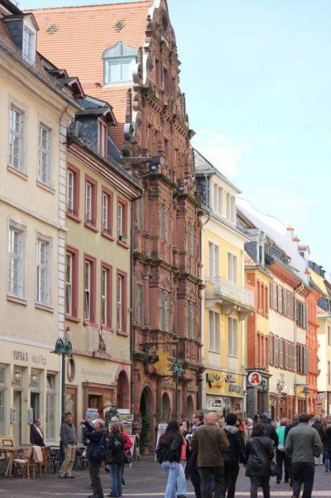 Außenansicht Hotel Zum Ritter St. Georg