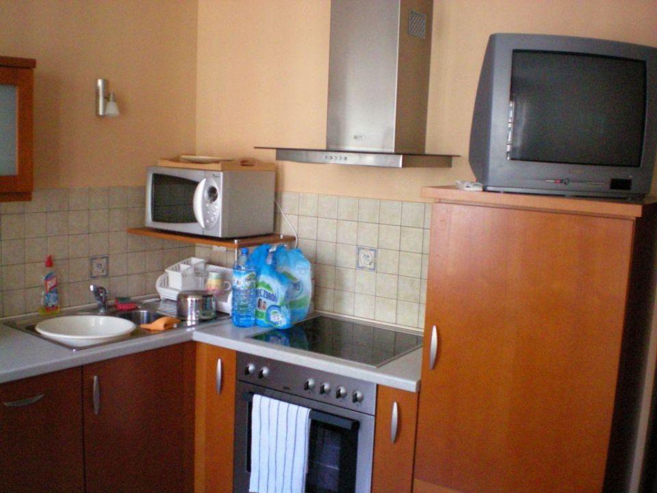 Küche Hotel Patio Appartement