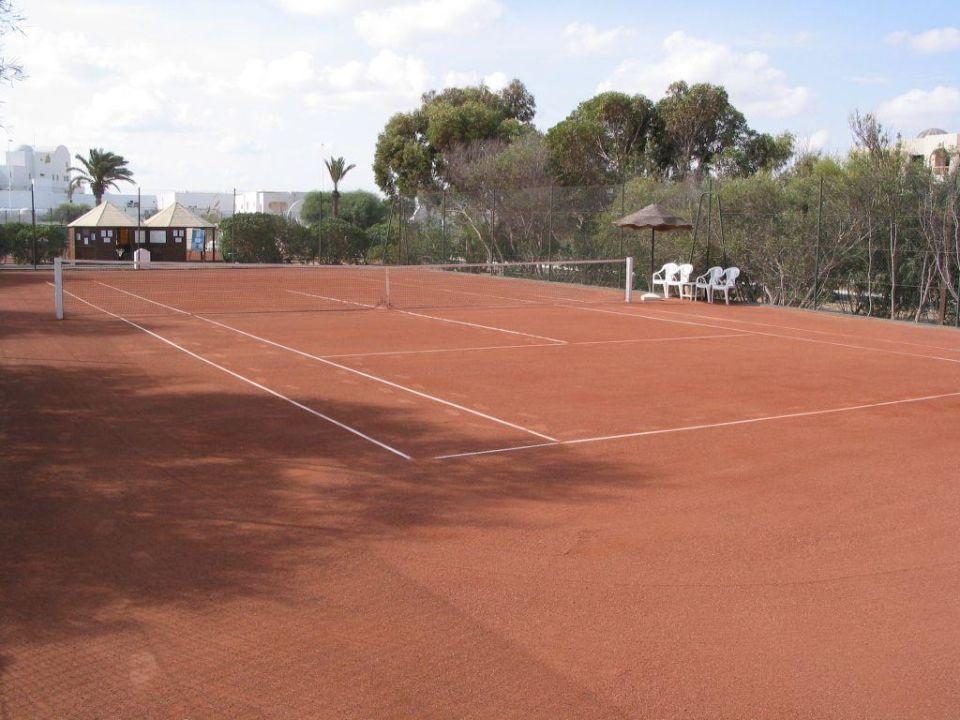 Tennisplätze Hotel Meninx