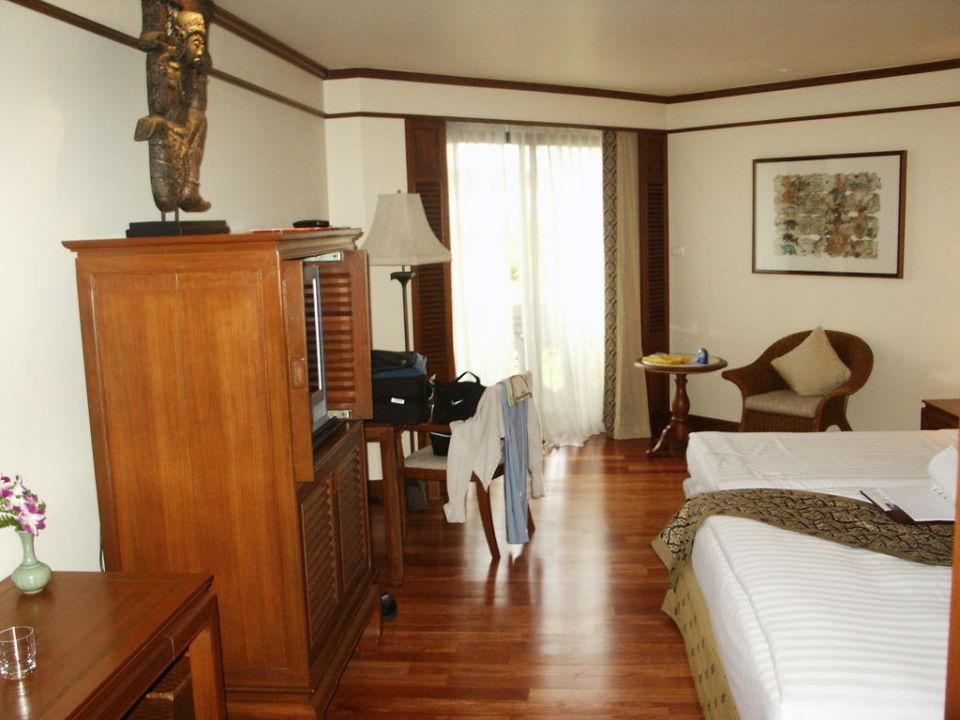 Toller Holzboden Anantara Riverside Bangkok Resort
