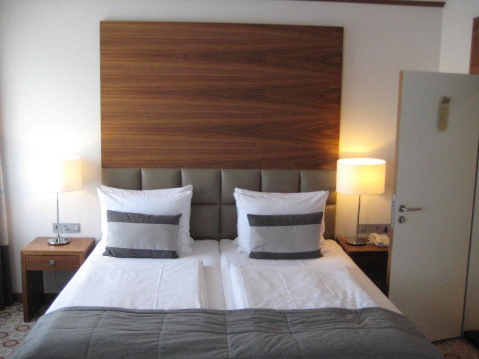 Zimmer Bett Golden Tulip Berlin - Hotel Hamburg