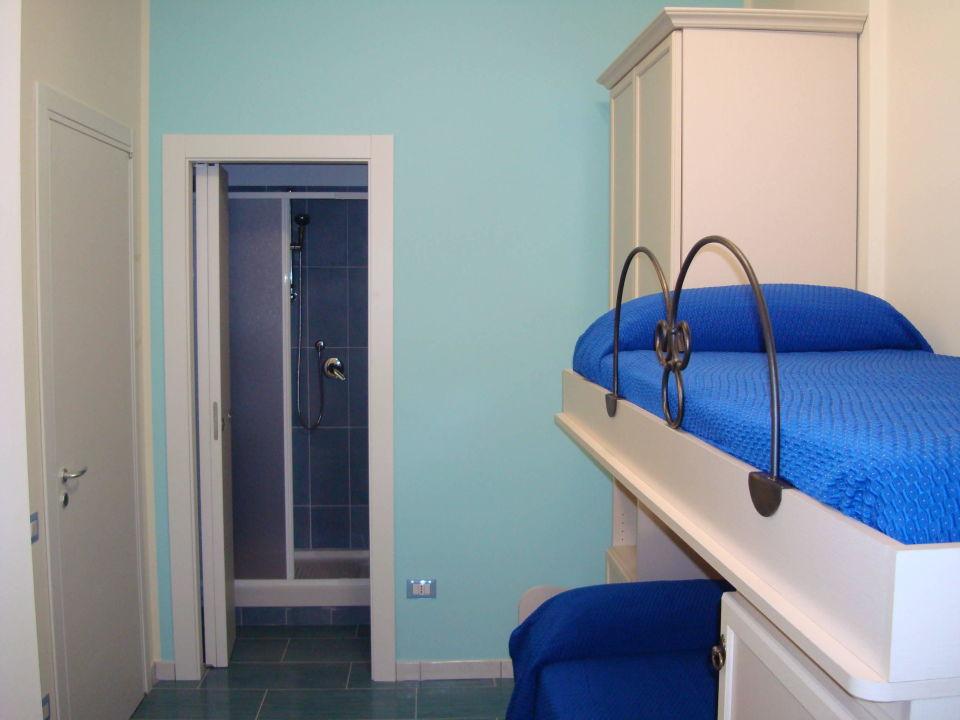 Camera singola con letto a castello\