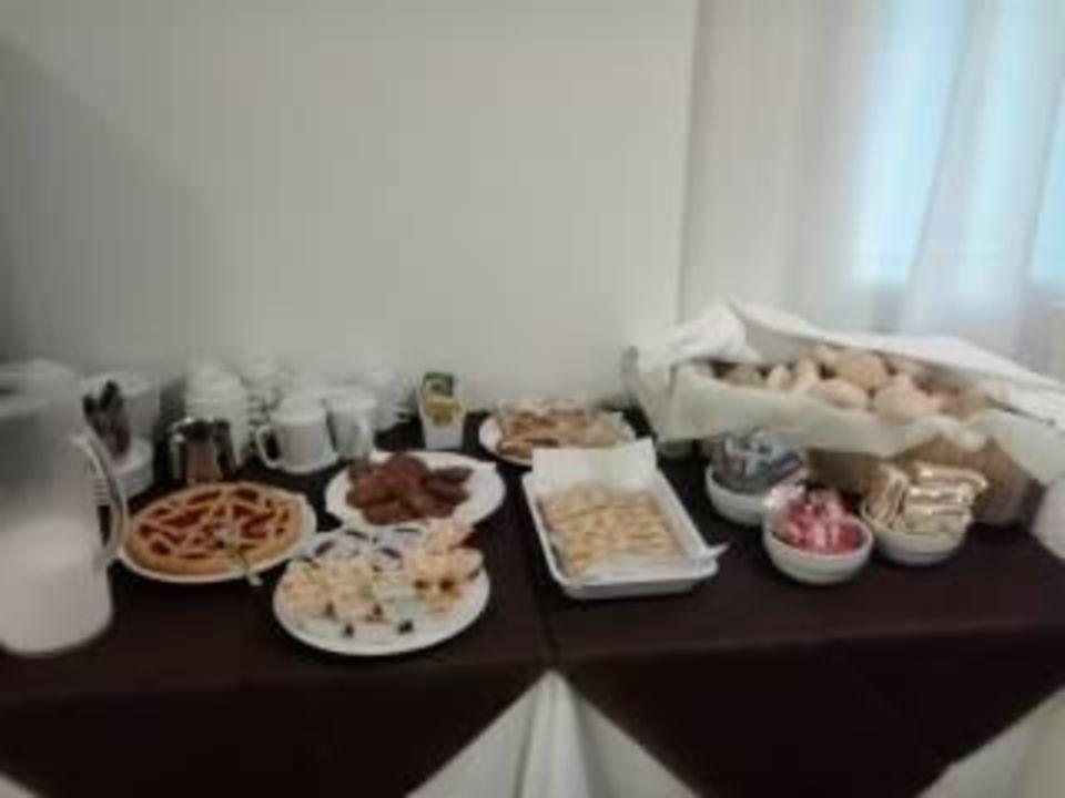 Ricco buffet colazioni Villa Mazzano