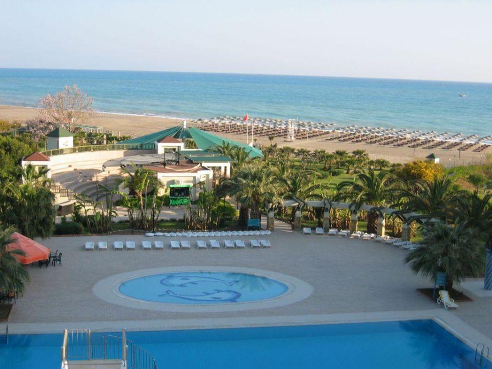 Blick vom Hotelzimmer Washington Resort & SPA