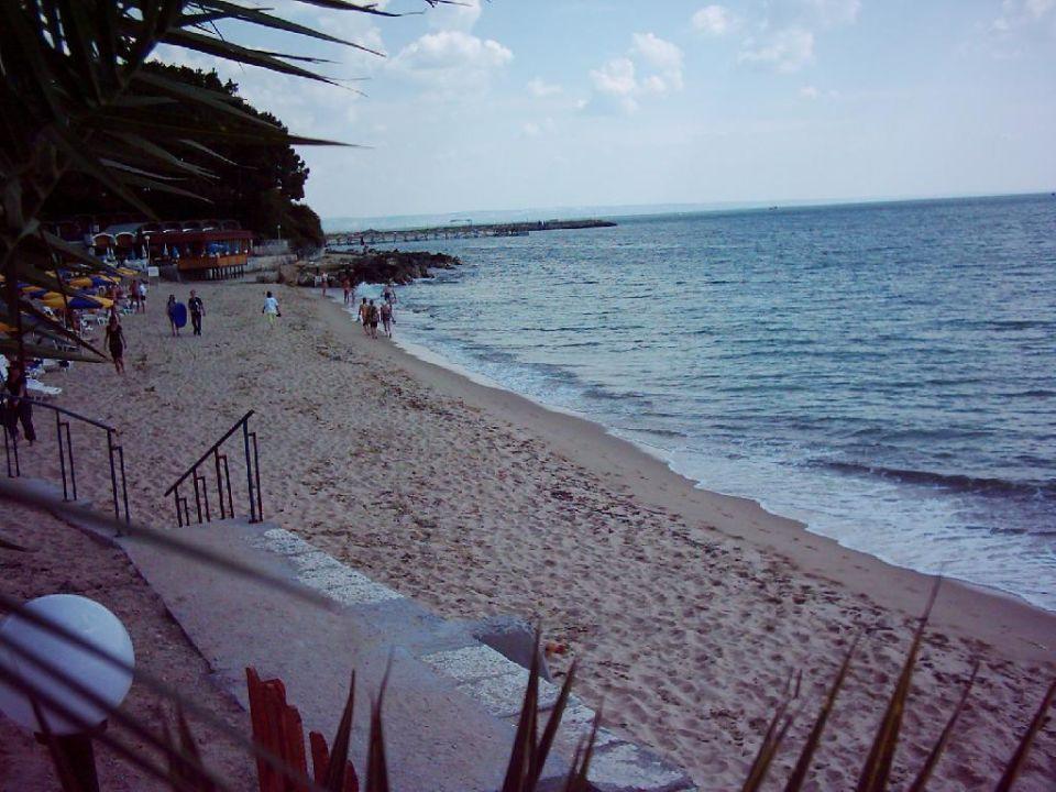 Strand vor dem Riviera Beach Hotel Hotel Riviera Beach