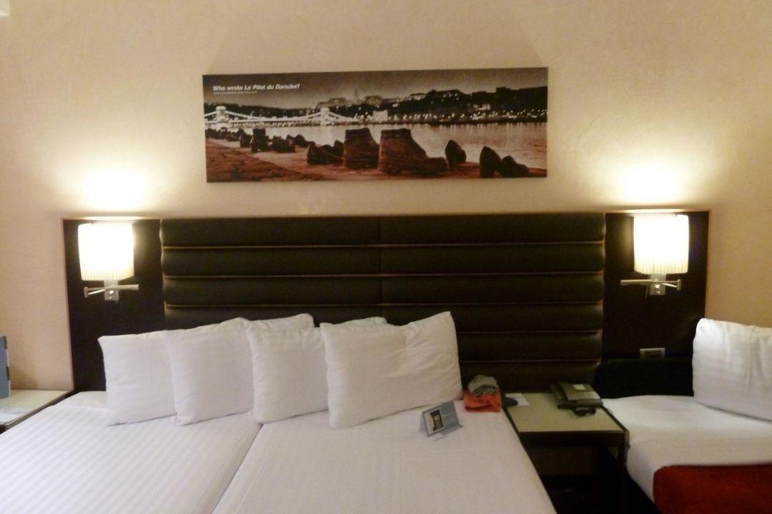 Pokój standard Hotel Eurostars Budapest Center