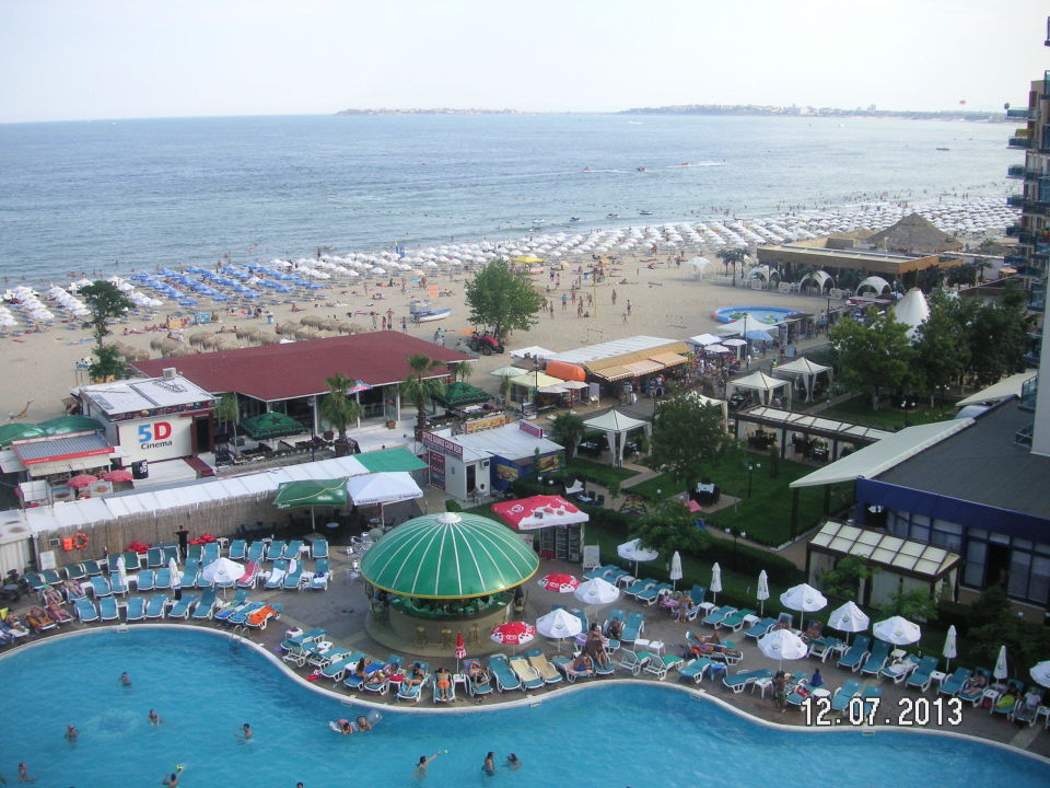 Traumhafter Meerblick Bis Zur Insel Nessebar Beach Hotel Bellevue