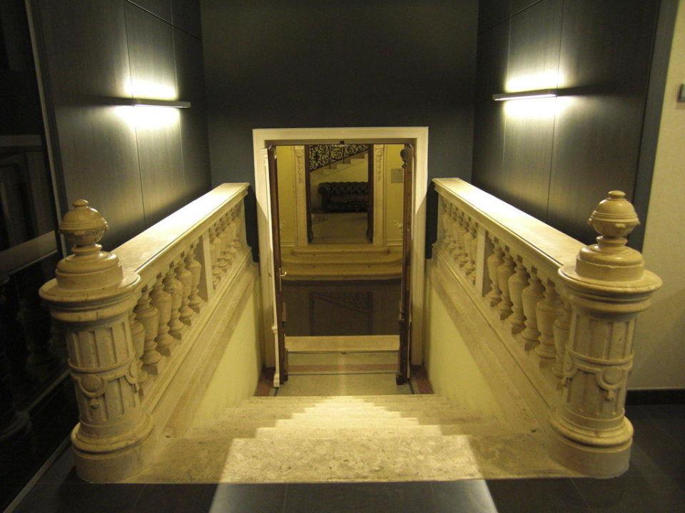Treppenhaus Hotel Palazzo Zichy