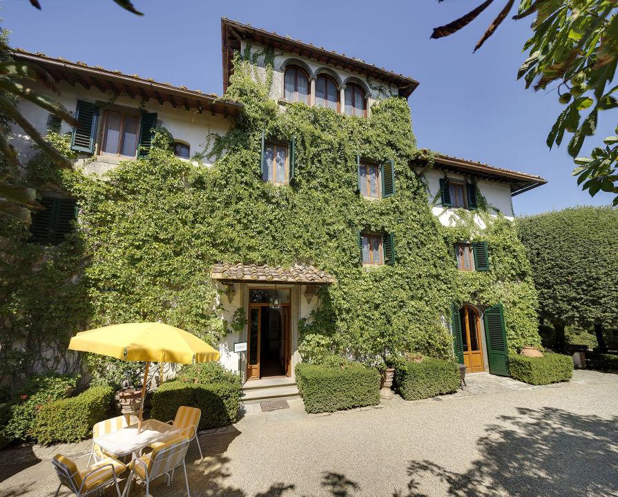 Außenansicht Hotel Villa Le Barone
