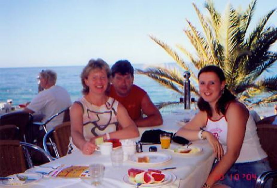 Terrasse zum Essen Rubi Hotel