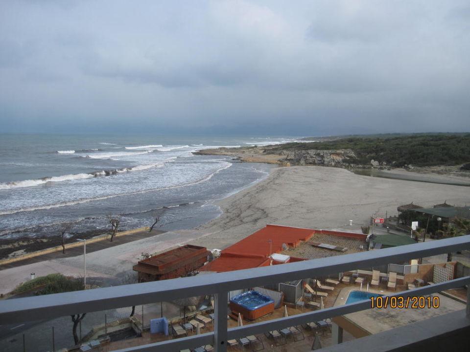 Blick vom Balkon Hotel & Spa Ferrer Concord