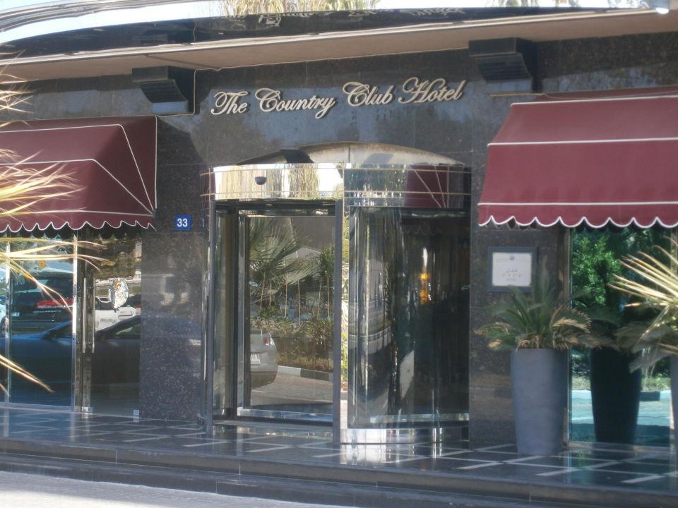 Hoteleingang Hotel The Country Club Dubai
