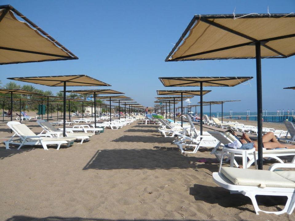 Reichlich Platz am Strand Nashira Resort Hotel & AQUA-SPA