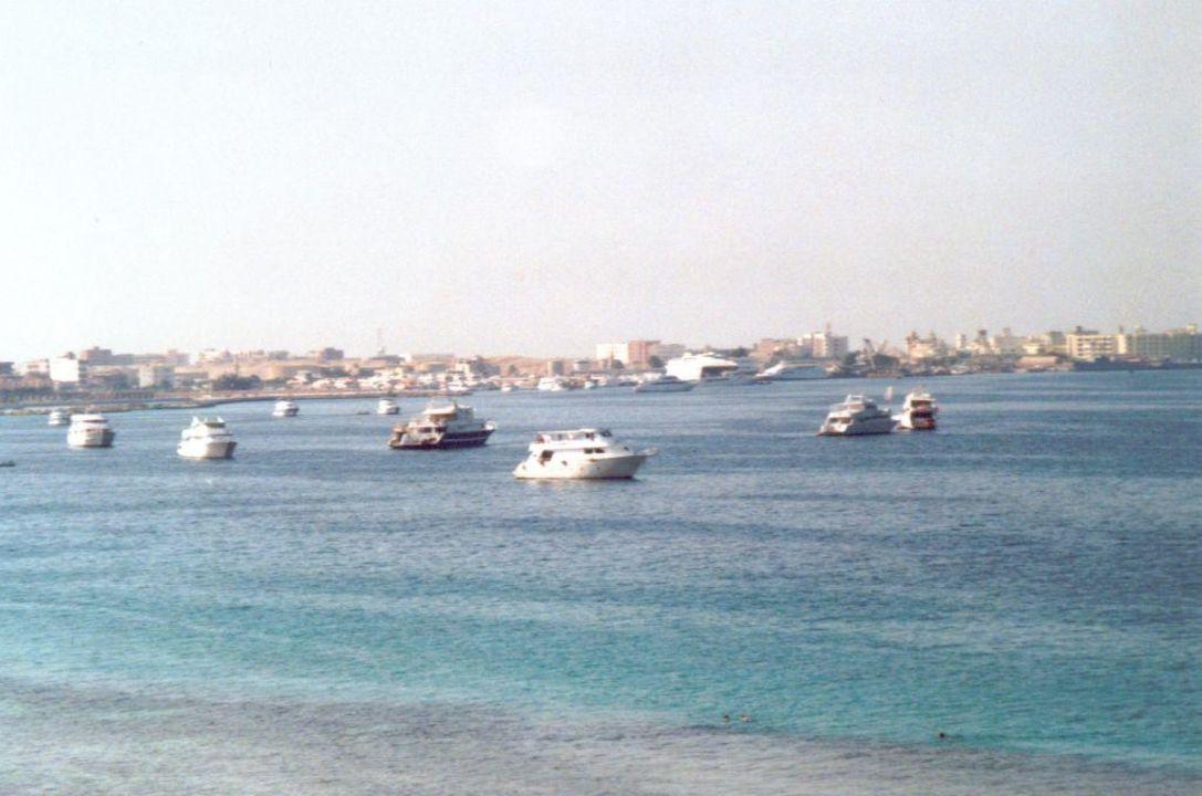 Blick auf Hurghada SUNRISE Holidays Resort