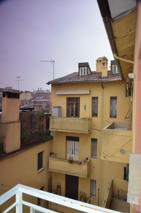 Aussicht vom Balkon  Nuovo Hotel Del Porto