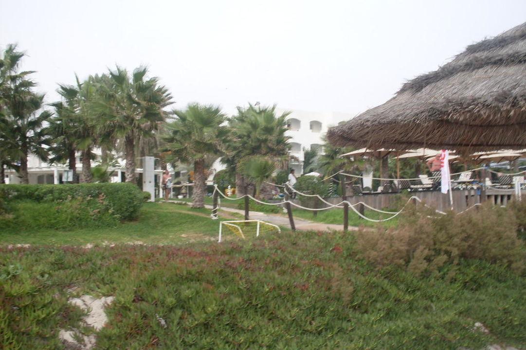 Weg zum Strand Hotel Thalassa Mahdia