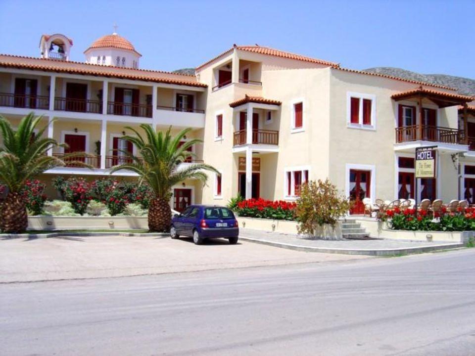 Monemvasia - gegenüber des Felsens im Ort Gefira liegt das H Hotel Flower of Monemvasia