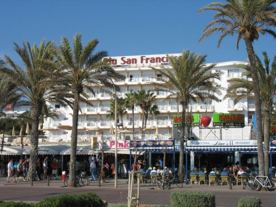 Mallorca Playa De Palma Hotel Riu San Francisco