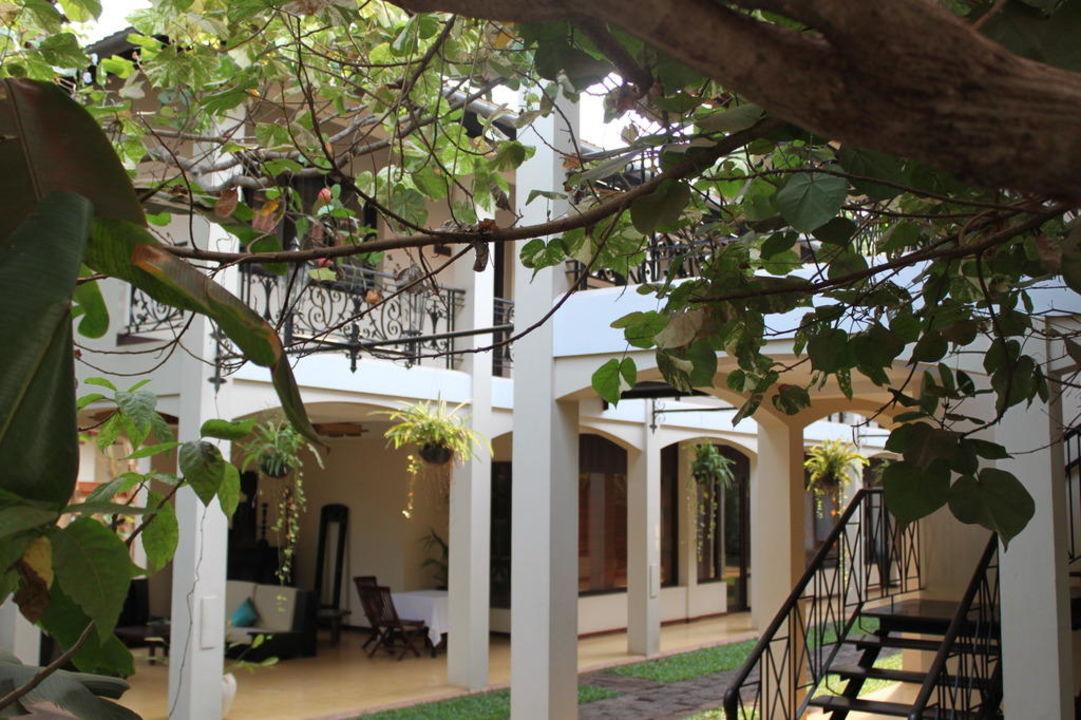 Zwei der drei Kolonialhäuser Hotel Heritage Suites
