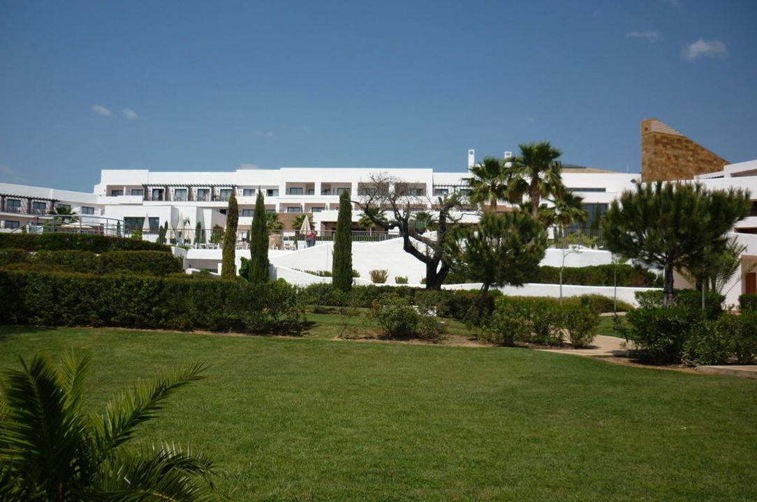 Das Hauptgebäude Hotel Fuerte El Rompido