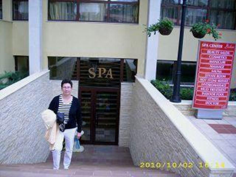 Eingang zum Spa-Bereich Hotel Grifid Bolero