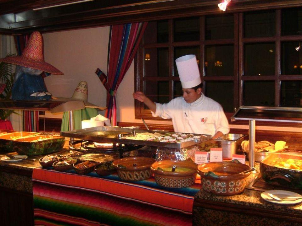 Mexikanisches Essen RIU Yucatan Hotel Riu Yucatan