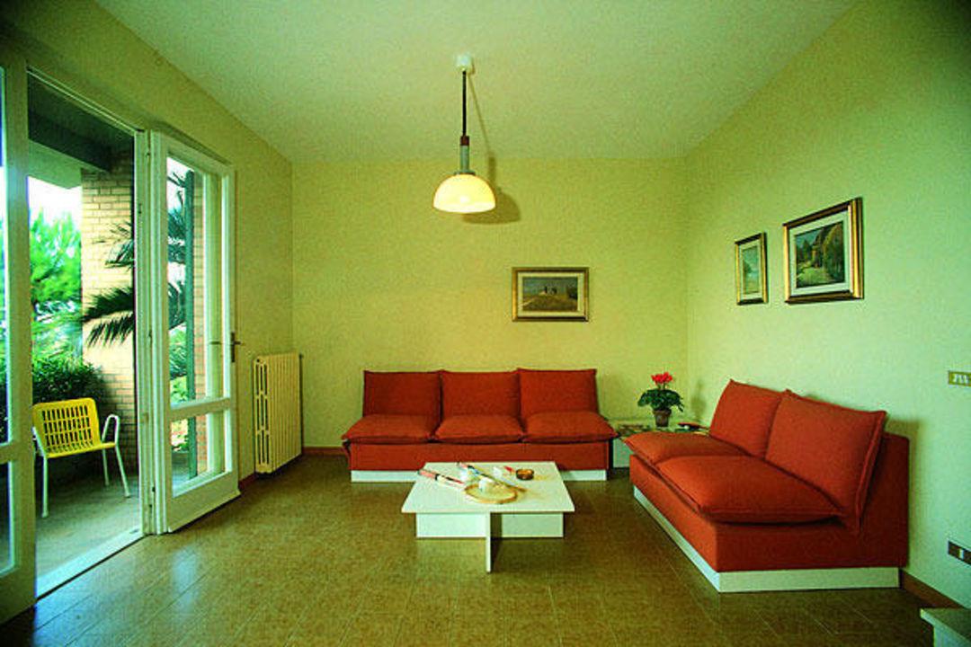 Un interno degli appartamenti Hotel La Casetta