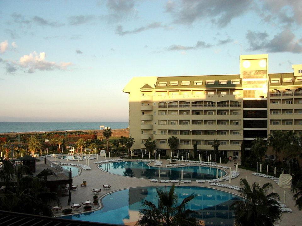 Blick vom Balkon aus Amelia Beach Resort Hotel & Spa
