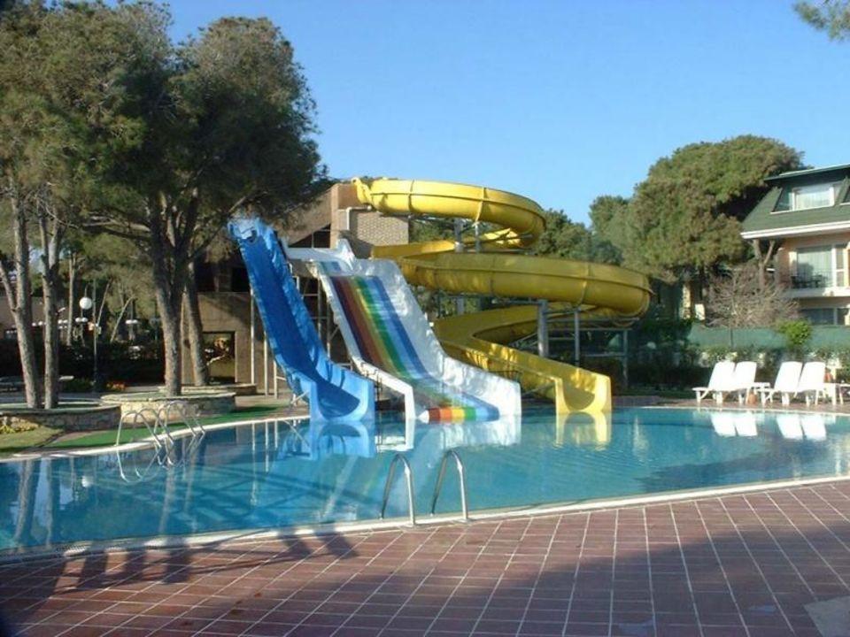 Hotel Rixos Belek - Pool-Anlage mit Wasserrutschen Papillon Ayscha Hotel